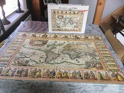 jigsaw puzzle 1500 pieces Ancient Map Of The World