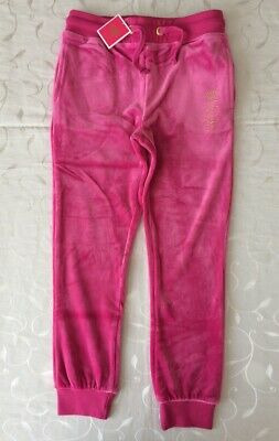 Juicy Couture  Girl's Velour Joggers ( Size 6 Years)