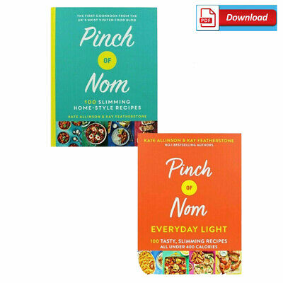PINCH OF NOM Two Book Set SLIMMING HEALTHY RECIPES - PDF VERSION