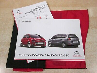 CITROEN C4 PICASSO & GRAND OWNERS MANUAL  OWNERS HANDBOOK 2013-2017 m18