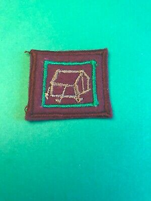 The Bbs 'Senior Scout' Second Edition 'Camp Warden' Badge.