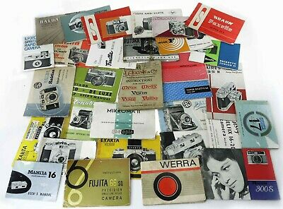 Collectable Cameras - Instructions Books & Related Literature.