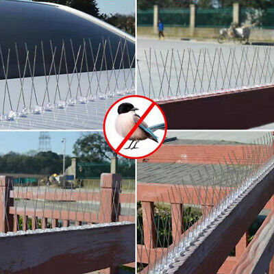 Anti Climb Spikes Garden Fence Security Spikes Bird Repellent Prickle Strips