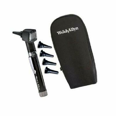 Welch Allyn 22841 Junior Otoscope Pocketscope With Handle And Soft Case