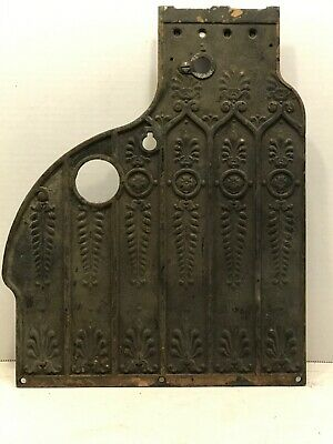 National Cash Register Side Plate With Clock Knock Out Part # 4