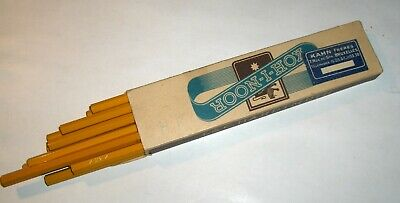 Vintage Pencils/Crayons 4H L & C Hardtmuth Koh-I-Noor - New Condition