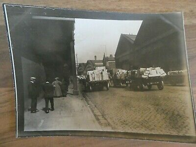 1900 Photograph of Back Streets by CANADA DOCK Liverpool.