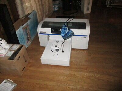 Epson SureColor F2000 White Edition DTG Printing System!