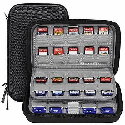 Sisma 80 Game Card Holders Storage Case for Nintendo Switch PS Vita Game