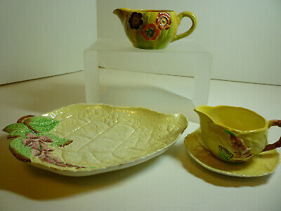 Carlton Ware Floral Serving Set S/4