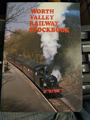 Keithley & Worth Valley Railway Stockbook Great Condition Book Full Of Photos