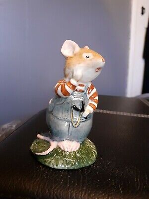 Royal Doulton Brambly Hedge 'Wilfred Toadflax' Figurine.1982.Excellent Condition