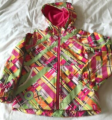 Gorgeous Crushr girls colourful jacket - excellent condition -Age 6 - zip up