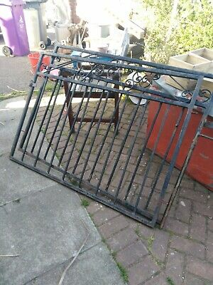 Large Reclaimed Iron Driveway / Garden Gates   plus single gate