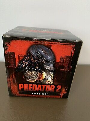 EXCLUSIVE Predator 2 MIcro Bust (2003) Palisades Toys; #1083/4000; New in box