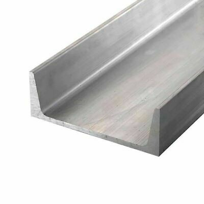 "6061-T6 Aluminum Channel, 9"" x 2.65"" x 36 inches"