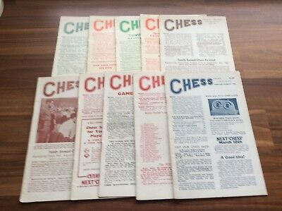 Chess Sutton Coldfield Magazine Vol 27 Numbers 395-418