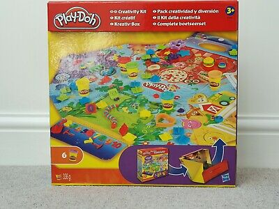 Play-Doh Creativity Kit new boxed BUT MISSING 1 POT OF PLAYDOH, rest is complete