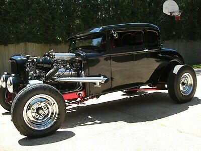 1931 Ford Model A  1931 Ford Model A Coupe 292 Supercharged Magneto