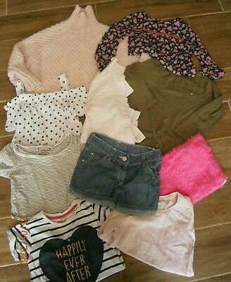 Girls clothes bundle age 6-7 years  lots of items see photos (lot 4)