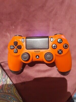 Sony Official Dualshock 4 Controller (Magma Red) (Ps4) Playstation 4