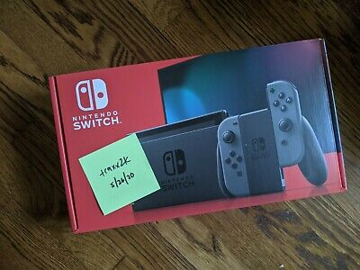 Nintendo Switch 32GB Console with Gray Joy‑Cons NO RESERVE!