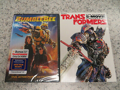 NEW*Transformers:The Ultimate Five Movie Collection 1,2,3,4,5,6:Bumblebee (DVD)