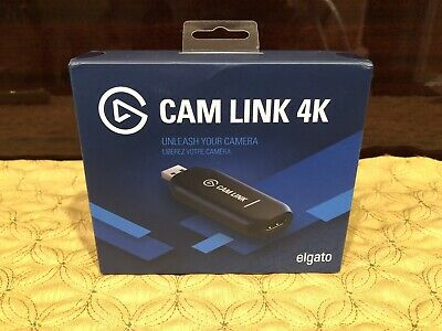 Elgato Corsair Cam Link 4K USB Capture Device HD for Recording/Streaming