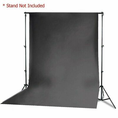 9.3 x 17.6 ft Black Muslin Backdrop Photo Studio Photography Cotton Background