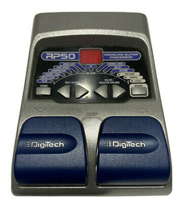 Parts Only - Digitech RP50 Guitar Multi Effects Amp Modeling Pedal Does Not Work