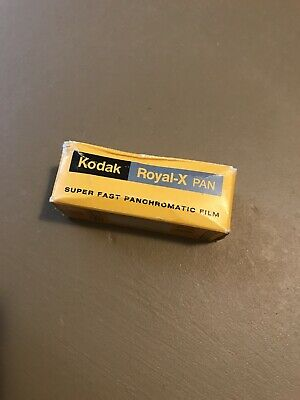 Kodak Royal-X Pan Super Fast Panchromatic Film Exp 83 RX 120