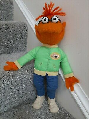 """Vintage 1978 Fisher Price Jim Henson Muppets The Muppet Show Scooter Doll 16"""""""