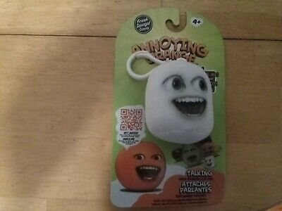 Annoying Orange Clip Ons Marshmallow