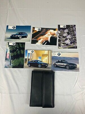 2003 BMW 325Ci Coupe Owners Manual Set With Case OEM