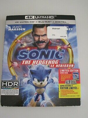 Sonic The Hedgehog (4K Ultra HD slip cover only)No Disc No Blu Ray