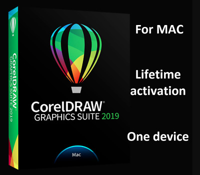 🔥🔥 Corel Draw graphics suite 2019 for Mac OS✔️ Life Time ✔ Full Version