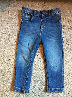 Baby Boy Skinny Jeans River Island Mini 12-18Months