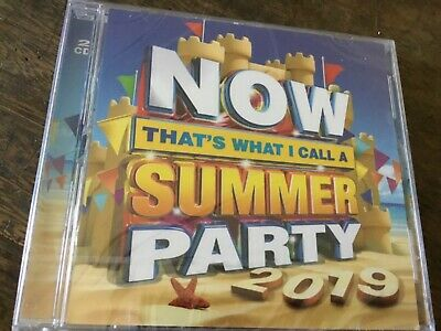 Now Thats What I Call A Summer Party 2019 - Various - 2 X Cd Set - George Ezra +