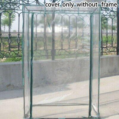 NEW! Mini Growbag Tomato Growhouse Garden Greenhouse PVC Cover Without Shelves