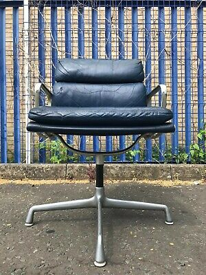 Charles Eames Leather Softpad Chair Herman Miller