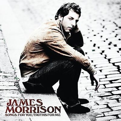 JAMES MORRISON Songs for You, Truths for Me (CD, 2008) BRAND NEW