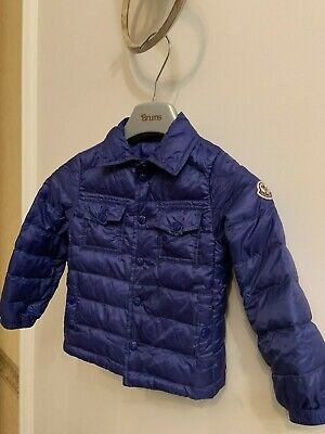 Moncler kids/baby lightweight down jacket size 86cm(18-24months)2years