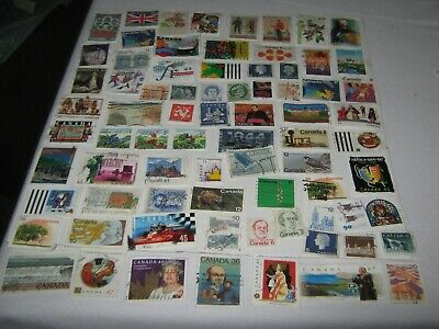 Canada Lot Of Used Stamps.all Different .Good Mix.lot # 3