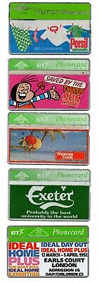 Bt Phonecard – 15 Assorted Bt Phone Cards (Free Postage Uk) (8)