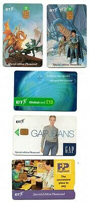 Bt Phonecard – 10 Assorted Bt Phone Cards (Free Postage Uk) (A)