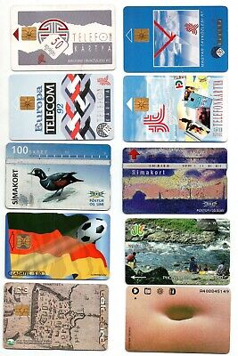 Phonecards – 20 International Assorted Phone Cards