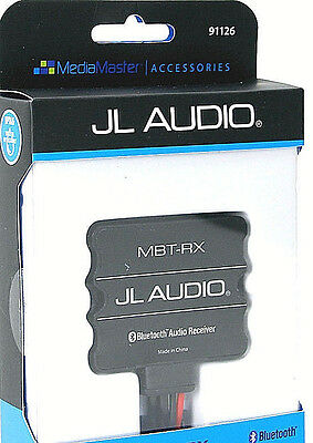 JL AUDIO MBT-RX Marine Stereo Rated Add-On Bluetooth Adapter Module Brand New