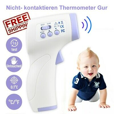 Infrared Thermometer Digital Temperature Gun Non-contact IR Temp Meter Boby Baby