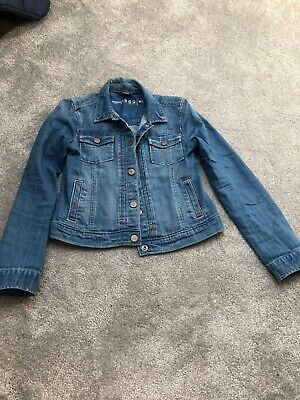 Girls Gap Jean Coat Age Xl
