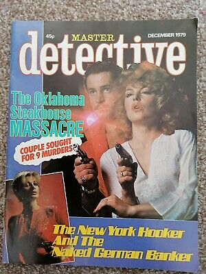 master detective magazine december 1979 good condition for age